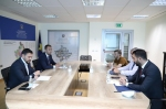 The Executive Director of the Kosovo Local Government Institute, Valmir Gashi, met with the Minister of Local Government Administration, Elbert Krasniqi.